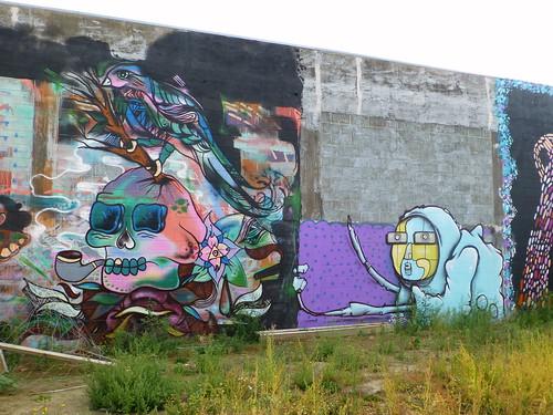 Jacob Yikes Street Art, Christchurch
