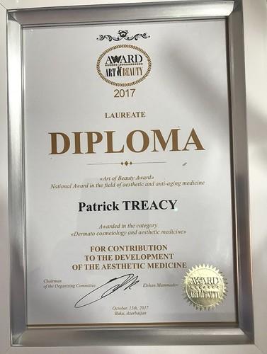 Dr. Patrick Treacy Best Doctor Azerbaijan 2017