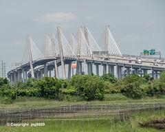 Goethals Bridge over the Arthur Kill, Staten Island NY - Elizabeth NJ