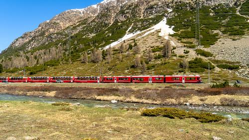 Bernina Pass: And a Bernina Express (4/4)