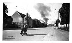 F-21490 Varois-et-Chaignot (21) Gare Chemins de fer départementaux de la Côte-d'Or im Juni 1941