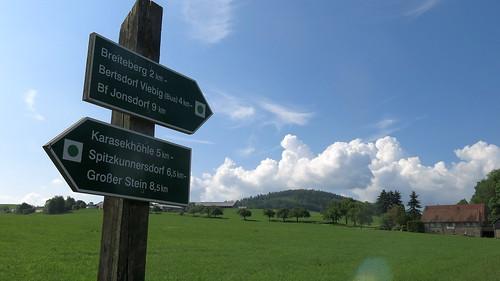 Breiteberg (510 m) from Hainewalde