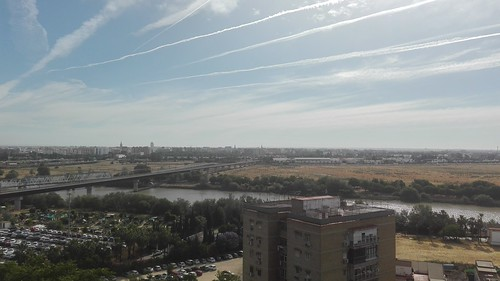 Vistas desde el mirador de San Juan de Aznalfarache, Sevilla