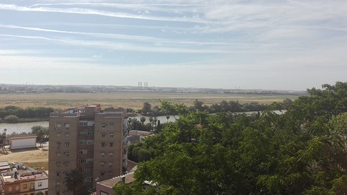 Vistas desde el mirador de San Juan de Aznalfarache