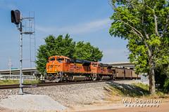 BNSF 8410 | EMD SD70ACe | BNSF Birmingham Subdivision