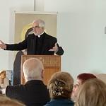 Don Salvador giving his speech