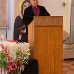 Bishop Riah giving his speech