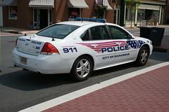 City of Manassas (Va.) Police Chevrolet Impala