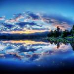 Rose Lake Topo Map in Kootenai County, Idaho