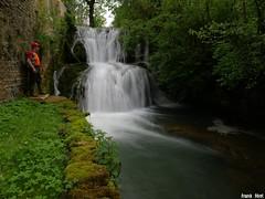 Cascade en amont de la Furieuse - Champagny du Bas - Jura (inedit)