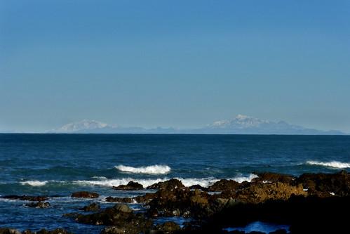 Across the strait