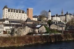 Panorama du château royal de Pau et du Parlement de Navarre, Pau, Béarn, Pyrénées-Atlantiques, Nouvelle-Aquitaine, France. - Photo of Pau