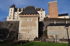 Tour de la Monnaie (XIVe), château royal de Pau, Béarn, Pyrénées-Atlantiques, Nouvelle-Aquitaine, France. - Photo of Pau