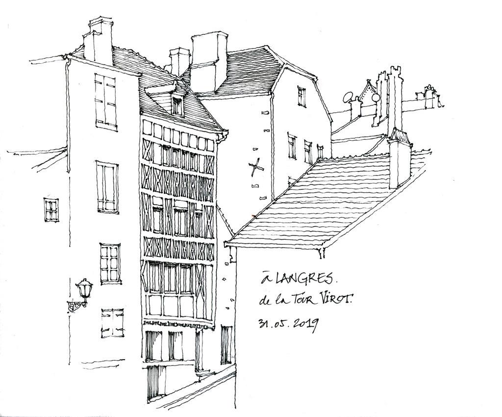 LANGRES - Carte plan hotel ville de Langres 52200 - Cartes