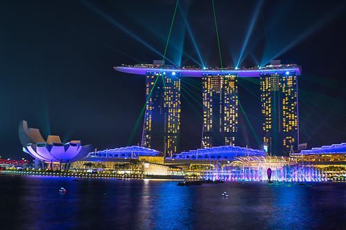 Light Show Marina Bay