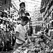 Market Trader, Ladies Market, Hong Kong