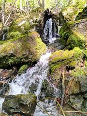 Cascade vers l'aqueduc
