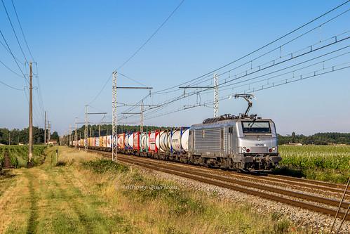 02 juin 2019 BB 27170 Train 50720 Bordeaux-Hourcade -> Valenton Lalande-de-Pomerol (33)