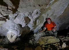 a l'intérieur de la Grotte de Sous Revier -Myon