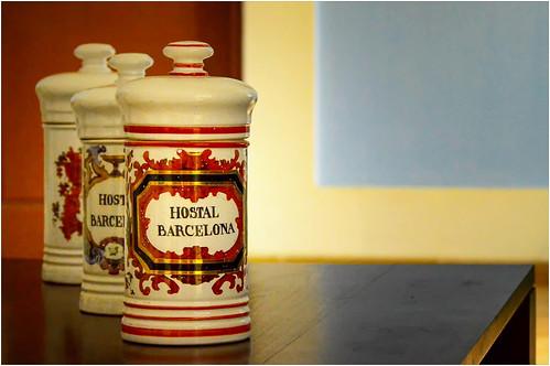 travel memories ... Hostal Barcelona ...