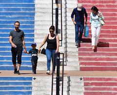 Le grand escalier de Valbonne