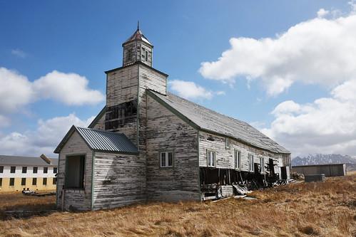 Historic Bering Chapel. Adak Island, Alaska