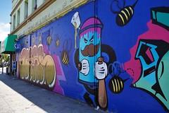 S. Los Angeles Mural