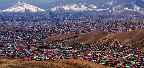 Ulaanbaatar - The Ger District