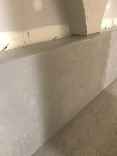 Concrete bench top-1