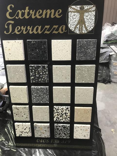 Extreme Terrazzo colour range