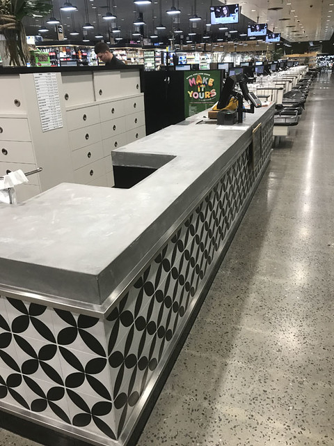 Concrete bench tops-3