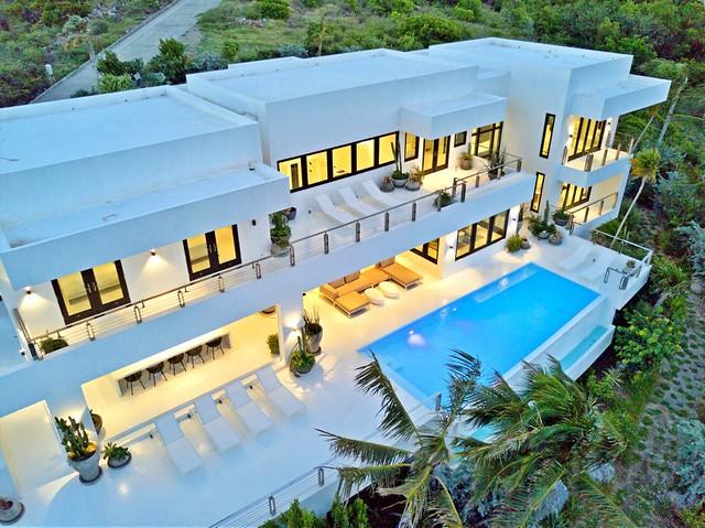 White terrazzo floors-3