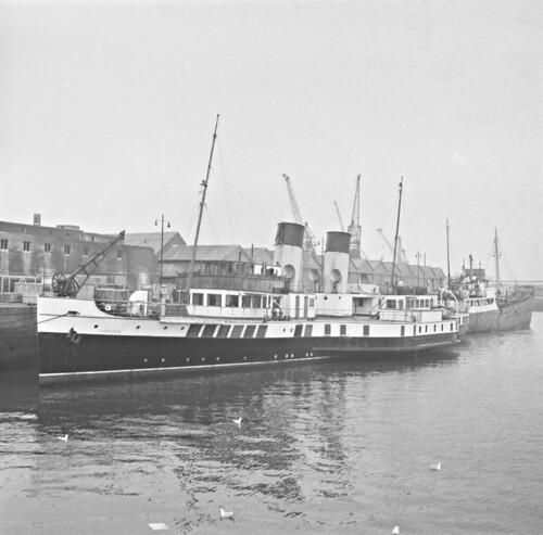 The SS Jupiter at Ringsend