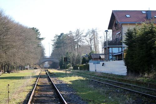Küllstedt: Ehemaliges Empfangsgebäude des Bahnhofs