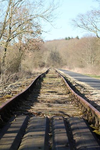 Küllstedt: Gleis der Kanonenbahn in Richtung Dingelstädt