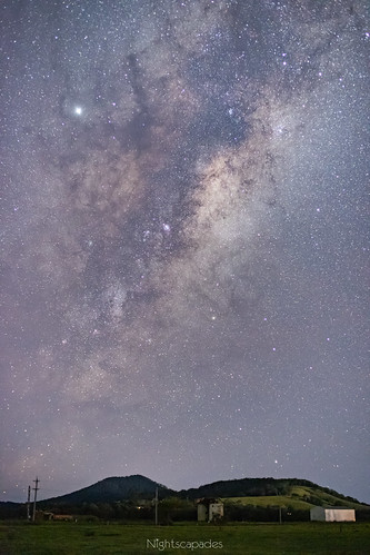 The Milky Way at 50 millimetres