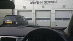 Jaguar Drive-in Service