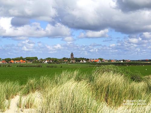 "The village ""Hollum"" at Ameland"