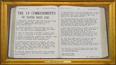 The 10 Commandments Of Safer Drug Use