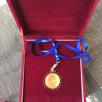 2019 Peace Gold Award Medal