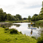 Paddleboarding, Walsham Meadow   Woking to Wisley and back-15