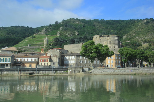 On the River, Tournon, France.