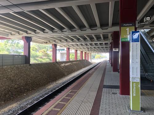 Whitfords railway station