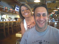 More fine dining @ Hooters with Jerry, Tampa, FL