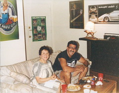Grammy and Dad came down to visit me in Tampa, FL 1990.