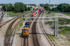 BNSF 3953 | GE ET44C4 | BNSF Thayer South Subdivision