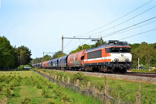 RFO 1828 + trein 63101 te Ermelo