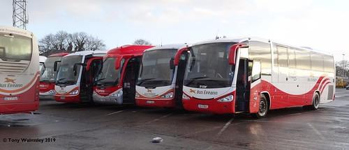 Bus Eireann SC342 SC259 SP116 SC257 SC267 Limerick