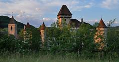 Lever de soleil de juin sur le château