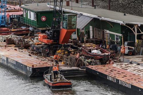 Harbour work